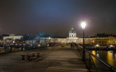 Paris Pont des Arts 1