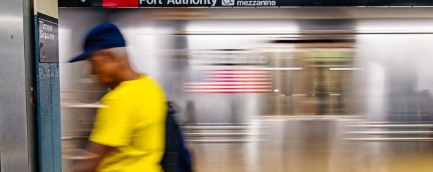 New-York, le métro